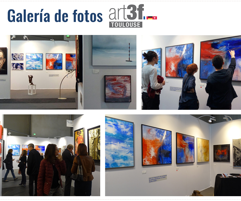 Galería de fotos. Exposición Toulouse Art 3f 2017. Enrique Benito Soler